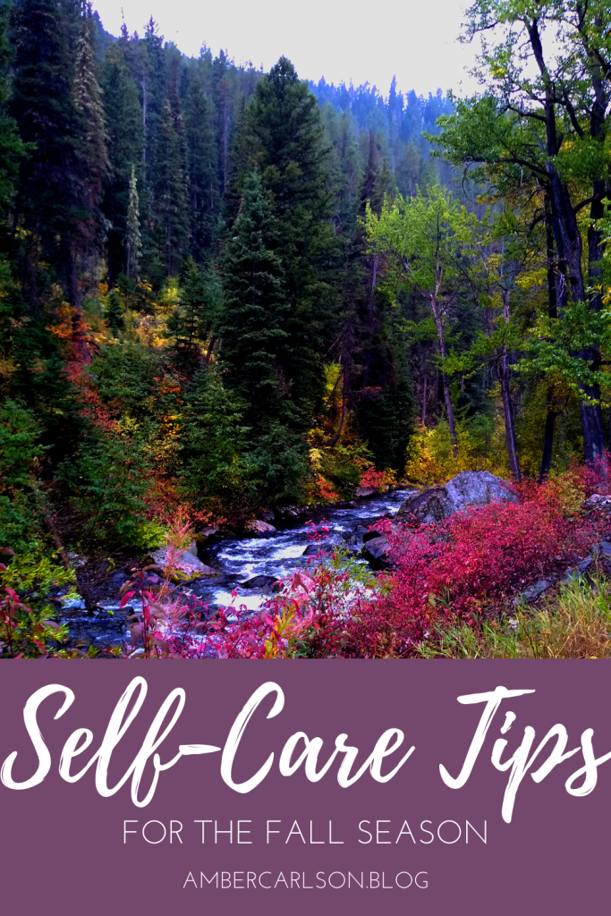 Feeling a little off-balance? Learn some of my favorite self-care tips for keeping yourself healthy and well in the fall. #fall #health tips #meditation #mindfulness #selfcare