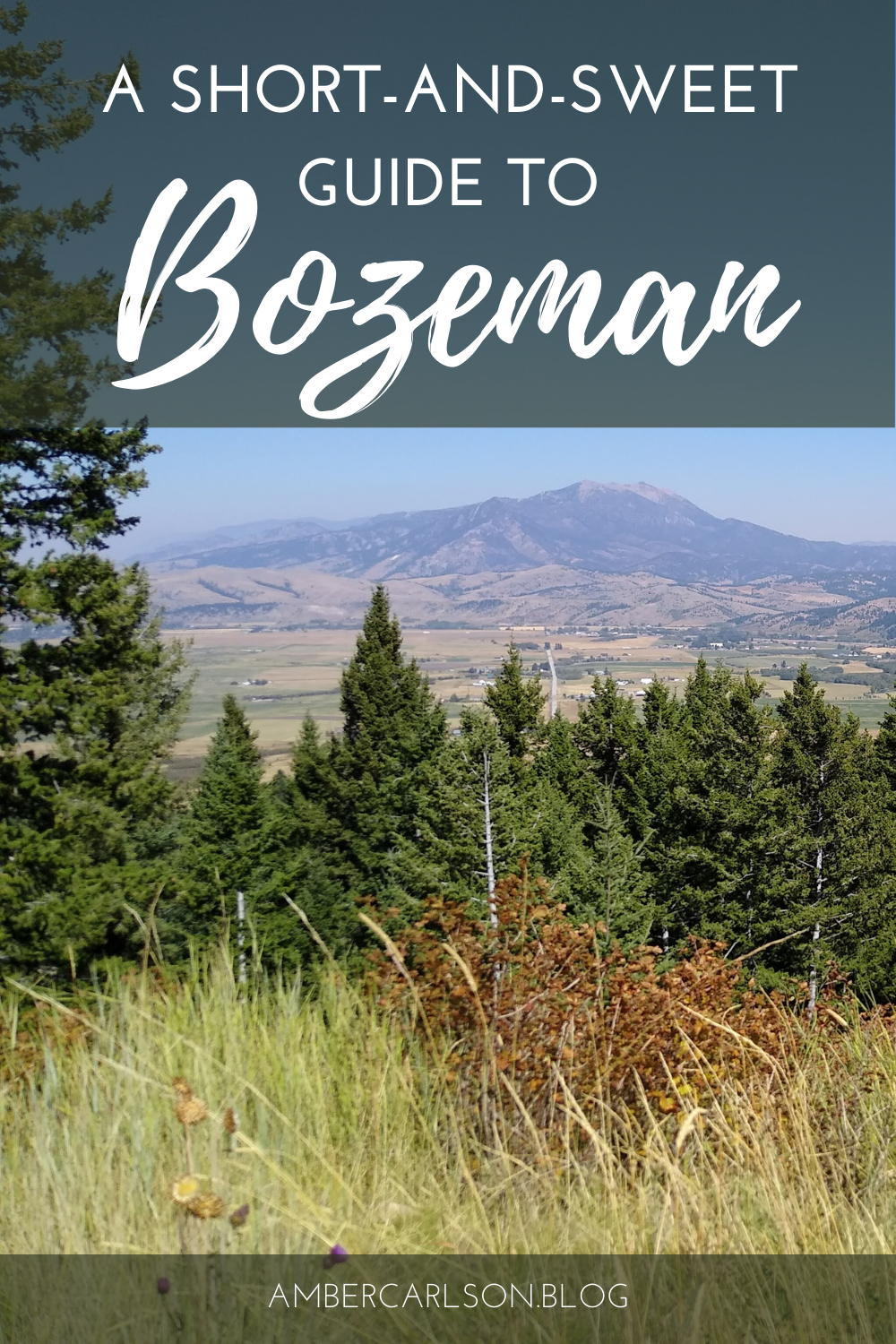 Thinking about a trip to Bozeman? Check out this travel guide to help you make plans for your time there. #travelguide #ustravel #bozeman #restaurants #hiking #sightseeing